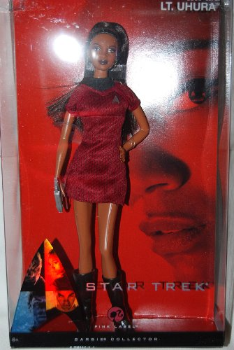 Barbie - Collectors Edition - Pink Label - Star Trek - Uhura - OVP