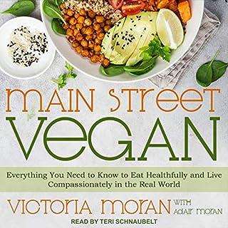 Main Street Vegan audiobook cover art