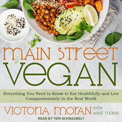 Main Street Vegan audiobook cover art