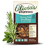 Olivia's Croutons - Rosemary & Sage Stuffing - Natural Stuffing - Gluten-Free Stuffing Mix - Gluten...