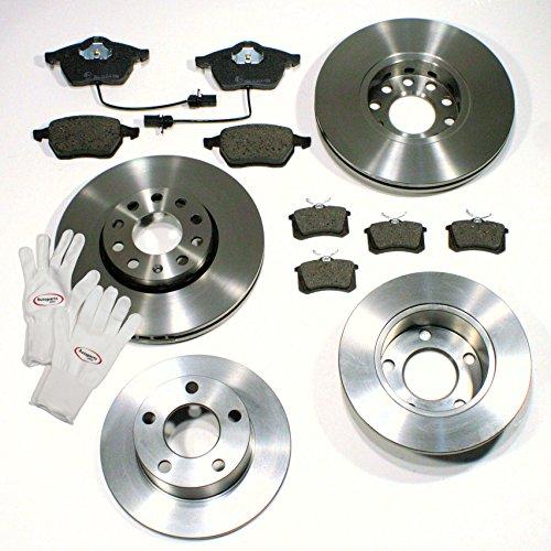 Autoparts-Online Set 60002223 Bremsscheiben 1LB;1KD / Bremsen + Bremsbeläge für vorne + hinten