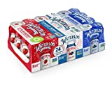 Waterloo Sparkling Water Variety Pack, 12 Fl Oz Cans, Pack of 24, 8 x Strawberry, 8 x Summer Berry, 8 x Blueberry | Zero Calories | Zero Sugar or Artificial Sweeteners | Zero Sodium
