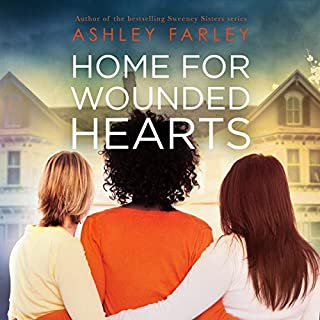 Home for Wounded Hearts     The Sweeney Sisters Series              By:                                                                                                                                 Ashley Farley                               Narrated by:                                                                                                                                 Tanya Eby                      Length: 6 hrs and 27 mins     5 ratings     Overall 4.8
