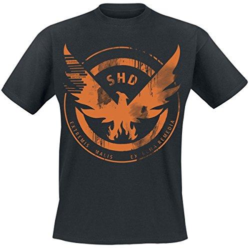 Tom Clancy's The Division SHD Black Eagle T-Shirt schwarz S