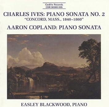 Ives: Piano Sonata No. 2 / Copland: Piano Sonata