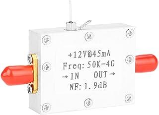 Eurobuy Amplificador Rf de Bajo Ruido Lna 50K-4G Alta Ganancia 25Db 0. 8G Planitud de Alta Ganancia (Carcasa Cnc Blanca)