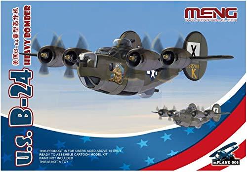 モンモデル モンキッズシリーズ アメリカB-24重爆撃機 プラモデル MKP006