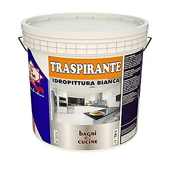 Foto di GDM 600008900010229 IDROPITTURA Ideale per BAGNI E CUCINE, Bianco