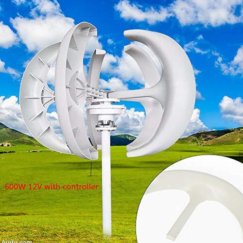Windgenerator Windgenerator Garten Wind Turbine Windrad Vertical Axis Windkraftanlagen mit Controller 12V 600W