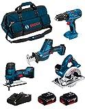 BOSCH Kit 18V BK404BAG (Sierra Sable GSA 18 V-LI C + Sierra de Calar GST 18 V-LI...