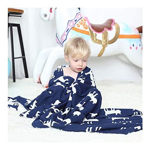 All Seasons Kids Sleeping Blanket Blank Couverture En Coton Doux Pour Bébé Nouveau-né Infant Baby Kids Animal Couverture À Tricoter Literie Quilt Play Blanket blanket