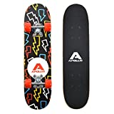 Apollo Kids Skateboard Flash, patineta pequeña para niños, 24' / 61 cm de Largo