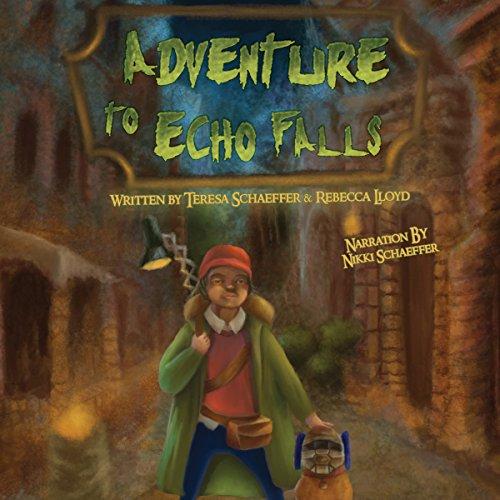 Adventure to Echo Falls audiobook cover art