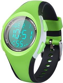 Montre Enfant Garon Fille Adolescent Digitale Outdoor Sport Multifonction tanche LED Lumire Alarme Calendrier Date avec Ba...