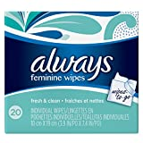 Always Wipes-to-Go, 20 Count - Pack of 4 (80 Total...