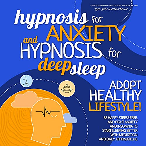 Hypnosis for Anxiety and Hypnosis for Deep Sleep Titelbild