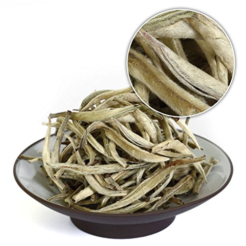 GOARTEA 150g (5.29 Oz) Supreme Chinese Organic Bai Hao Yin Zhen BaiHaoYinZhen Silver Needle White Loose Tea Tee