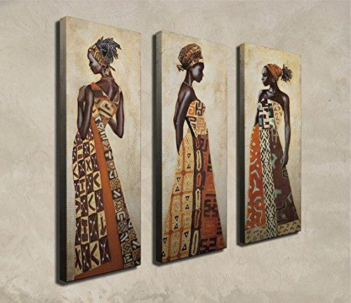 Wallity Decorative - Canvas de pintura (3 piezas)