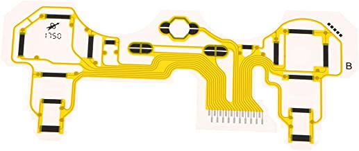 kesoto Specially Designed Game Controller Circuit Button Ribbon Board Conductive Film M5-160PIA Compatible with for PS3 Playstation 3 Controller