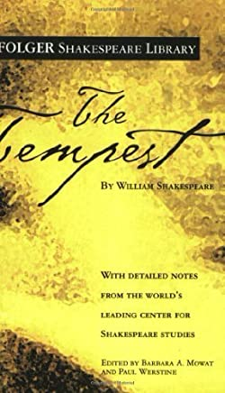 The Tempest (Folger Shakespeare Library) by William Shakespeare (2004) Mass Market Paperback