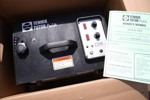 Tennis Tutor Pro Lite Battery-Powered Tennis Ball...