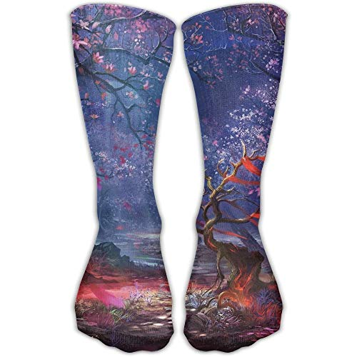 Stretch Stocking Cute Jellyfish Soccer Socks Over The Calf Hot For Running,Athletic,Travel