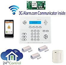 GE Simon XT Wireless Alarm System with Interactive Wireless Service via Web and Smart Phone, iPhone, iPad, Blackberry or Android!