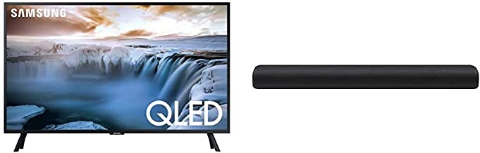 "Samsung Flat 32"" QLED 4K 32Q50 Series Smart TV with Samsung HW-S40T 4.0ch All-in-One Soundbar (2020)"