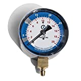 KGAUGE Gas Pressure Testing Kit, 0-35' W.C, Convenient Kit Perfect for Testing LP and Natural Gas Controls