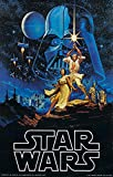 UpdateClassic Star Wars: Episode IV - A New Hope (1977) Movie - Poster 11 x 17 inch Poster Print Frameless Art Gift 28 x 43 cm Matte Paper Surface