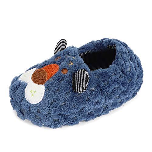 pantofole bambino leone MASOCIO Pantofole Bambino Invernali Peluche Animali Scarpe Ciabatte Bimbo Neonato Inverno Casa Leone Taglia 22 23