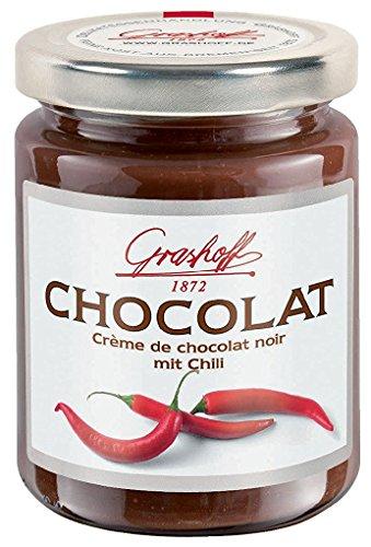 Grashoff Creme de chocolat noir mit natürlichem Chiliöl 250g