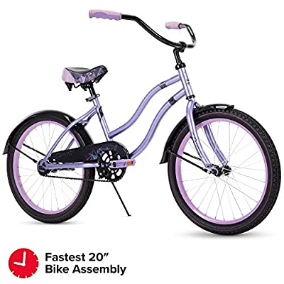 "Fairmont 20"" Girls Cruiser Lavender Quick Connect"