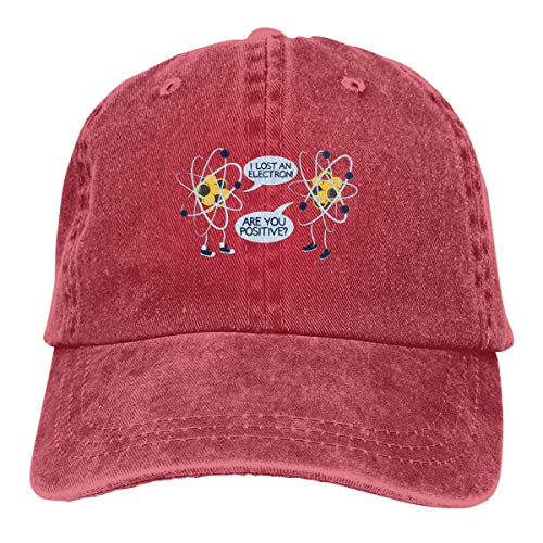fuyon Trucker Cap I Lost an Electron Durable Baseball Cap,Adjustable Dad Hat...