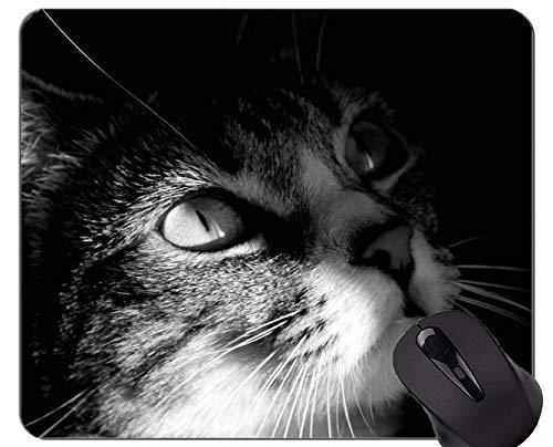 Gaming Mouse Pad Benutzerdefinierte, schwarze Katze schwarz Home-Office-Computer Zubehör Mousepads