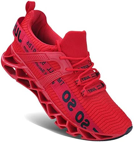 Cheap red bottom sneakers for men _image2