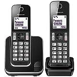 Panasonic KX-TGD312EB Cordless Home Phone with Nuisance Call Blocker and LCD Display