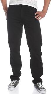 Wrangler Men's Rugged Wear Classic Fit Jeans, Black, W33 L34