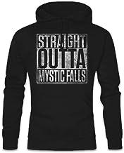 Urban Backwoods Straight Outta Mystic Falls Hoodie Sudadera con Capucha Sweatshirt