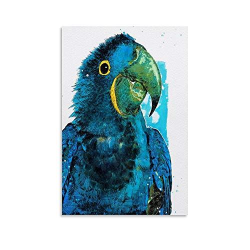 rongtao Colorido póster de guacamayos de jacinto, pintura decorativa sobre
