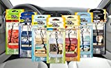 2 Packs (6 Fresheners) x Official Yankee Candle Assorted Car Jar Hanging Air