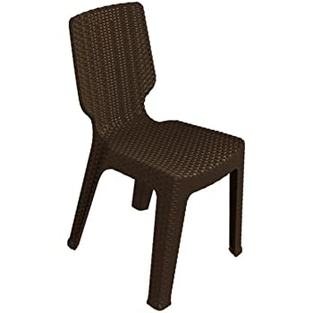 Keter - Silla de jardín exterior T-chair, Color marrón: Amazon.es ...