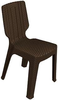 Keter - Silla de jardín exterior T-chair Color marrón
