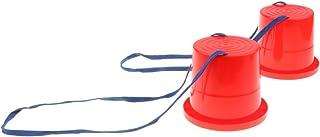 Juguete de Zanco de Salto Entrenamiento de Equilibrio Juego de Deporte al Aire Libre para Niños Niñas - Rojo 2