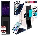 Hülle für Meizu m2 note Tasche Cover Case Bumper | Blau |