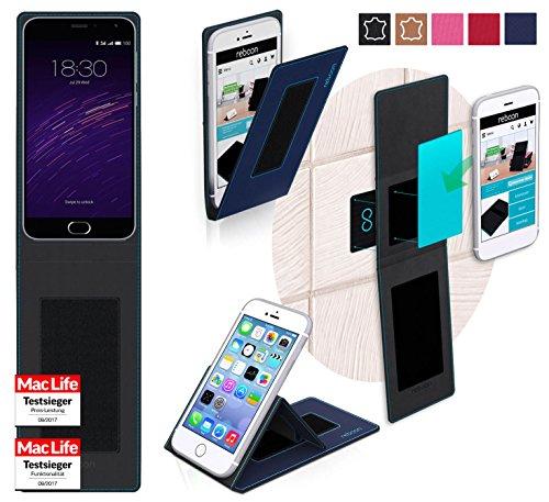 Hülle für Meizu m2 note Tasche Cover Hülle Bumper | Blau | Testsieger