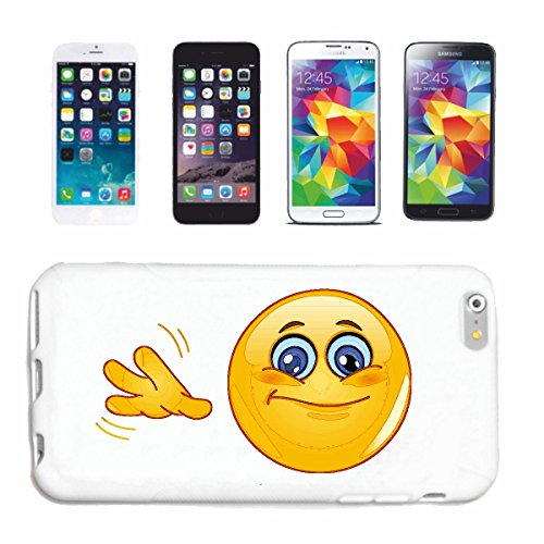 Reifen-Markt Handyhülle kompatibel für iPhone 7 WINKENDER Smiley Smileys Smilies Android iPhone Emoticons IOS GRINSE Gesicht Emoticon APP Hardcase Schutzhülle Hand