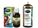 Mecitefendi Brennessel Shampoo 400ml und Mecitefendi natürliches Haarpflege Öl 100 ml. Spitze...