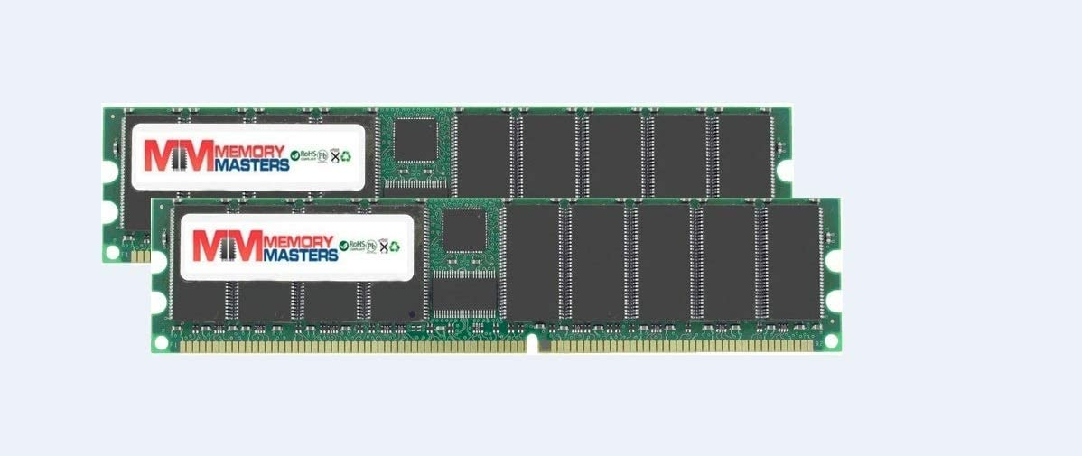 MemoryMasters 2GB (2x1GB) RAM Memory for The Dell Compatible Dimension 1100 2400 3000 4600 8300