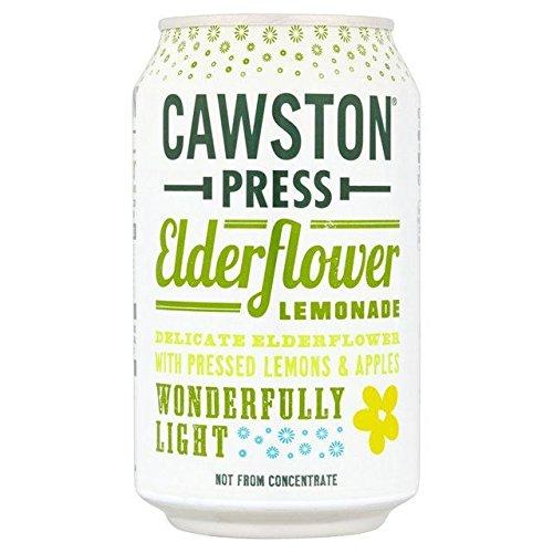 Cawston – Sprankelende vlierbloem limonade – Blikken – 330ml x 24